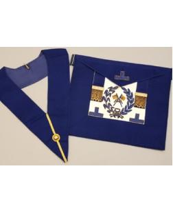 C054 Craft Grand Lodge  Apron & Collar