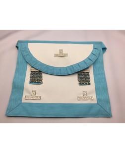 (spain) Craft Wm Apron Lambskin Pocket (round Bib)