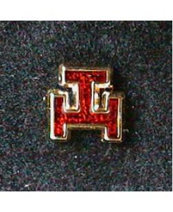 G143 Royal Arch Lapel Badge Clutch Back