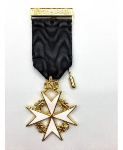 K055 Knights Malta Members Breast Jewel
