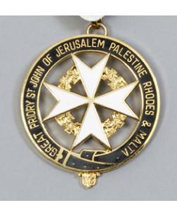 K059 Knights Malta Great Priory Collarette Jewel