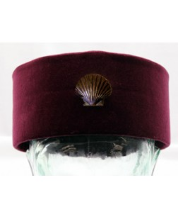 K092 Order Of St.thomas Of Acon Cap With Shell Badge