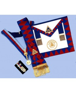 Pack Ra1 -  Ra  Provincial Set - Apron, Sash, Collar,jewel & Small Breast Jewel