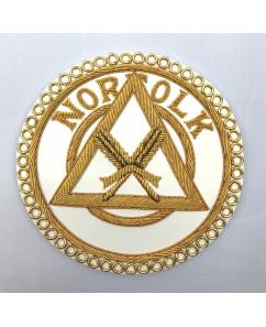 R030  Ra Prov/dist  Apron Badge (state Rank & Province/district)