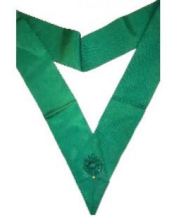 Y005 Ros Sash/cordon Green